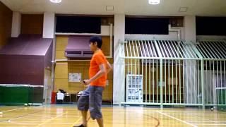 【ポイレッスン】 スプリットヒップルピルエット Split Hip Reel Pirouette | Poi Tutorial