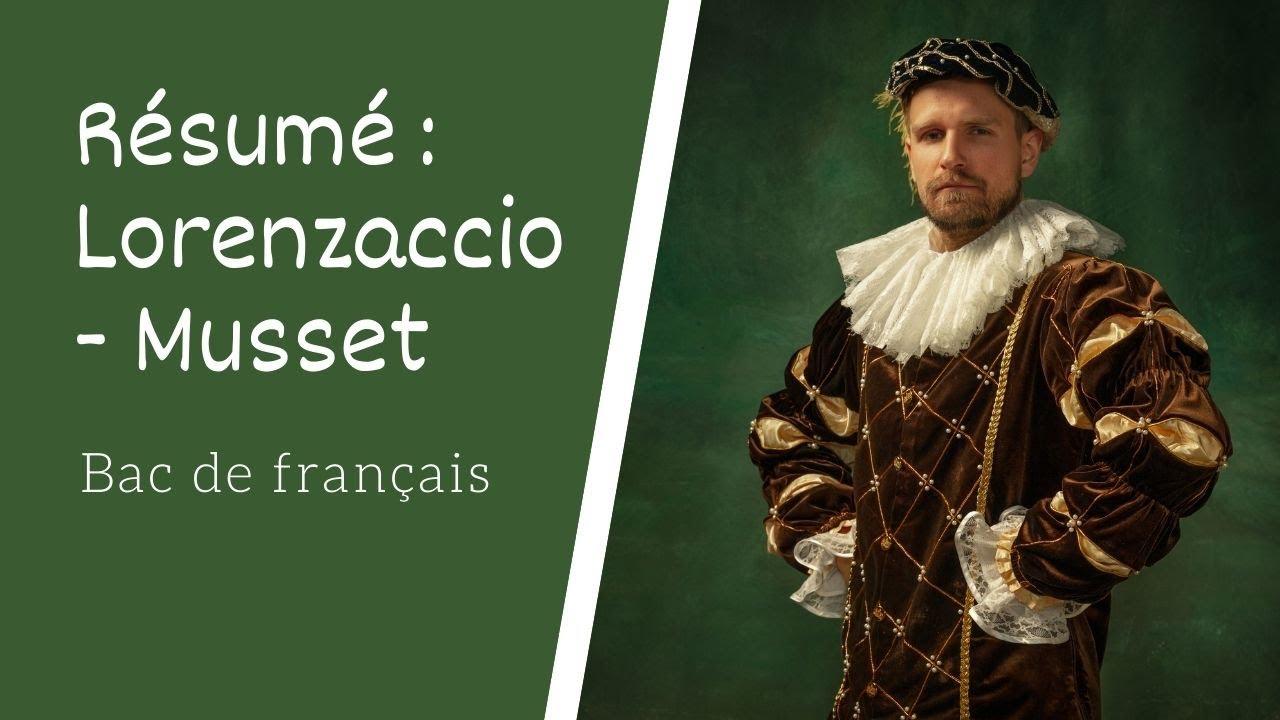 Resume de lorenzaccio good term paper topics history