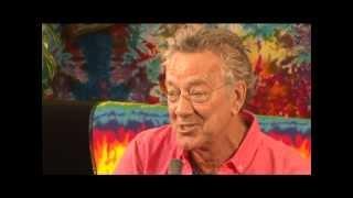 Ray Manzarek interviewed at the WestFest 40th Anniversary Woodstock concert San Francisco 2009