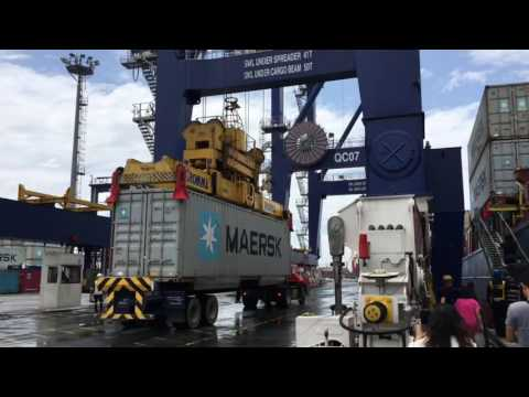Maersk Philippines  Port Tour