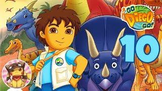 Go Diego Go: Great Dinosaur Rescue Walkthrough Gameplay Ending - SALTASAURUS AND MAIASAURA FAMILY