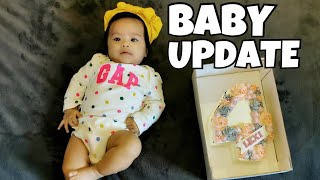 4 MONTHS BABY UPDATE | PAANO MAGING MADALDAL SI BABY?