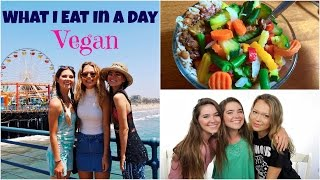What I Eat In A Day with Essena - VEGAN
