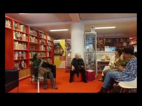 Kaouthar Darmoni at Atria, kennisinstituut voor emancipatie en vrouwengeschiedenis   with Amina Wadu