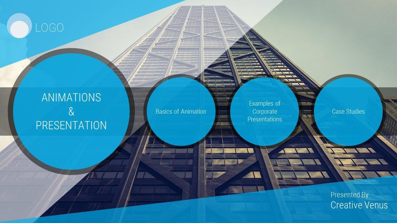super beautiful corporate slide template in microsoft