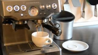 Wie macht man einen Kaffee mit einer Espressomaschine?