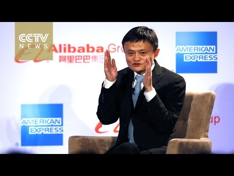 Jack Ma addresses US small businesses