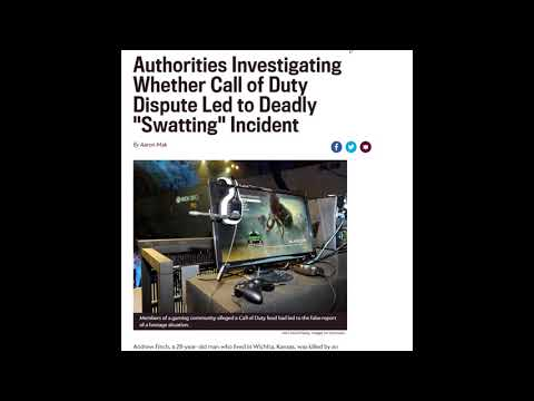 Call of Duty Gamers Kill a Man