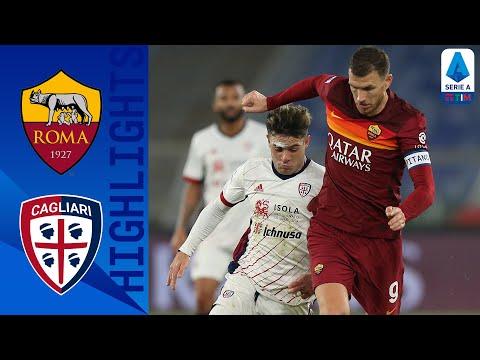Roma 3-2 Cagliari | La Lupa vince ed è terza | Serie A TIM