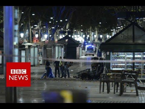 Barcelona: 13 killed as van rams crowds in Las Ramblas - BBC News