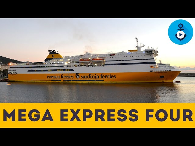 Mega Express Four, scopri gli interni del traghetto di Corsica Ferries