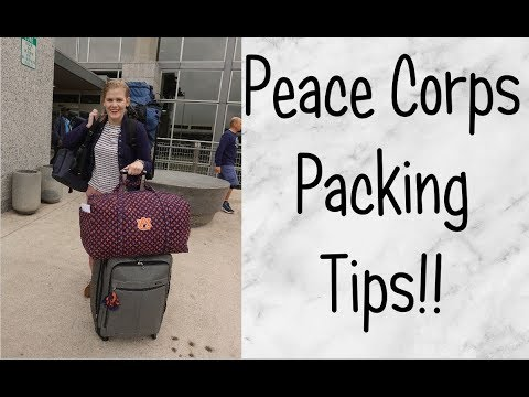 My 6 Peace Corps Packing Tips!