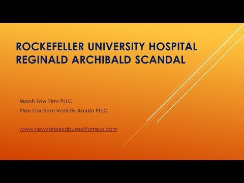 Reginald Archibald News Conference