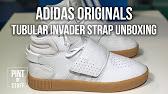 da806ae15a38 Adidas Originals Tubular Invader Strap Vapor Pink - YouTube