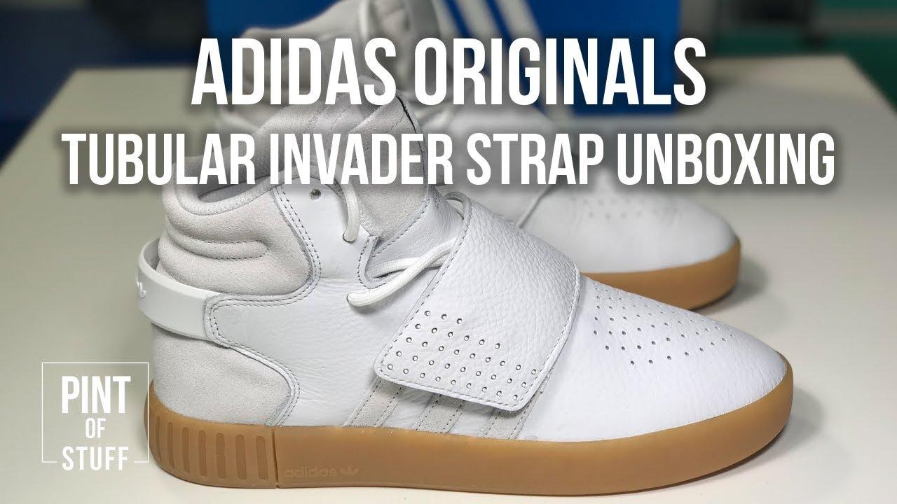 tubular invader strap white