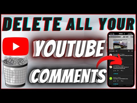 How To Delete All Your Youtube Comments On Mobile (Android \u0026 IPhone)