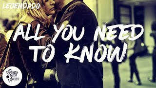 Gryffin &amp Slander - All You Need To Know [TraducaoLegendado] ft. Calle Lehmann