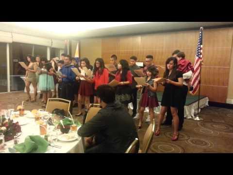 Tagalog Christmas Medley Performance