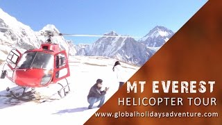 Everest Helicopter Tour, Nepal Helicopter Tour, Everest Tour