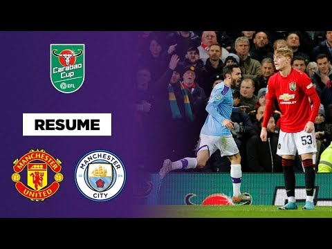 League Cup : Manchester City s'amuse contre Manchester United à Old Trafford