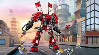 Montage Lego Ninjago Robot de feu