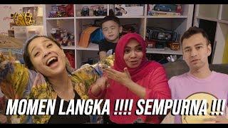 BARU TIDUR 1 JAM, RAFFI NYEMPETIN BUKA BARENG MAMA RIETA!!!!