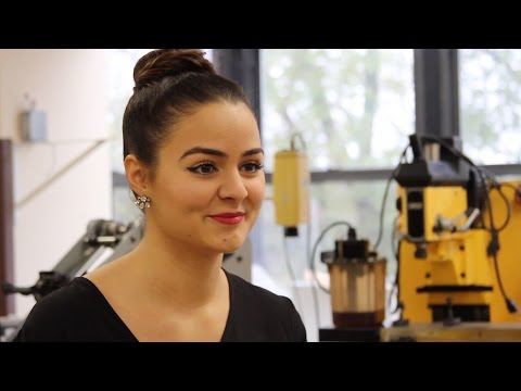 Meet a Mechanical Engineering Major: Antoneta Rukaj