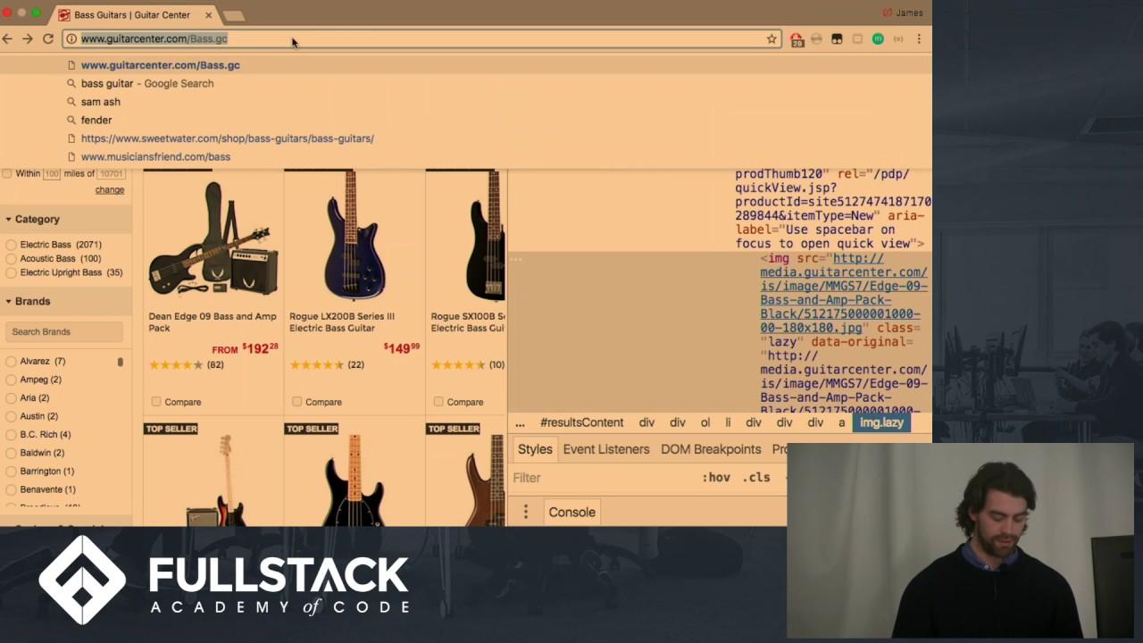 Iron Web Scraper Javascript