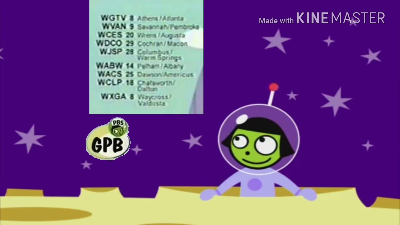 PBS Kids station ID-outer space (GPB 2005) (Recreation ...