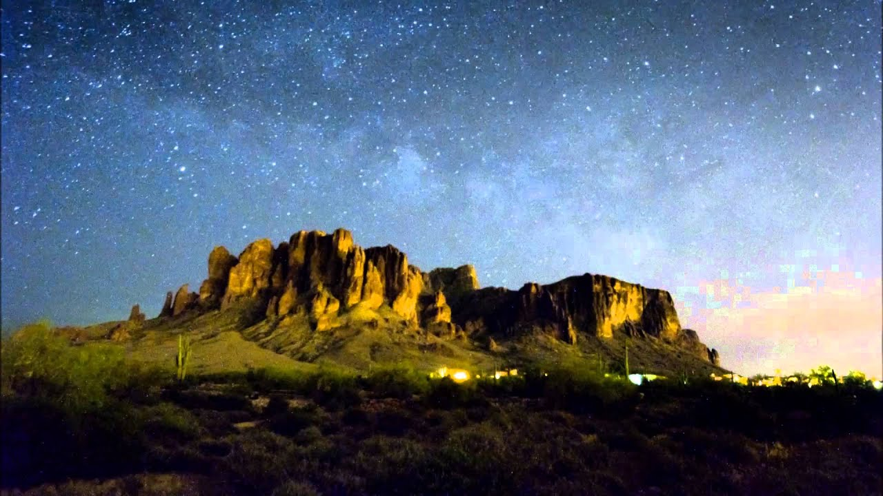 Superstition mountains image