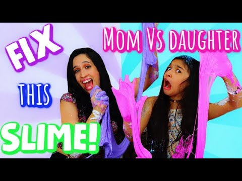 Fix this Slime with my MOM!😂