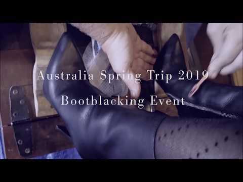 Bootblacking Event: OZ Spring Trip