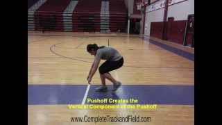 Glide Shot Put Technical Progressions and Training Drills for Outside of the Circle