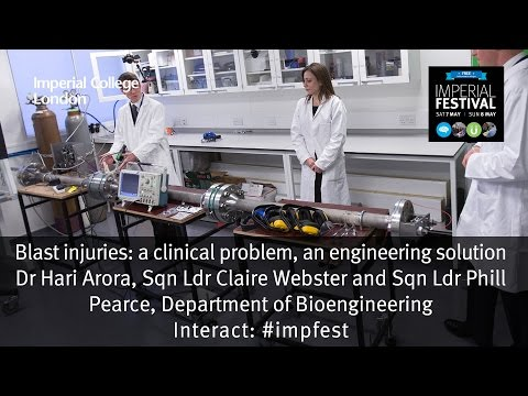 Blast injuries: a clinical problem, an engineering solution