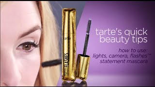 quick beauty tip: lights, camera, flashes™ statement mascara Thumbnail
