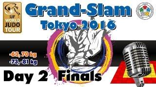 Judo Grand-Slam Tokyo 2016: Day 2 - Final Block