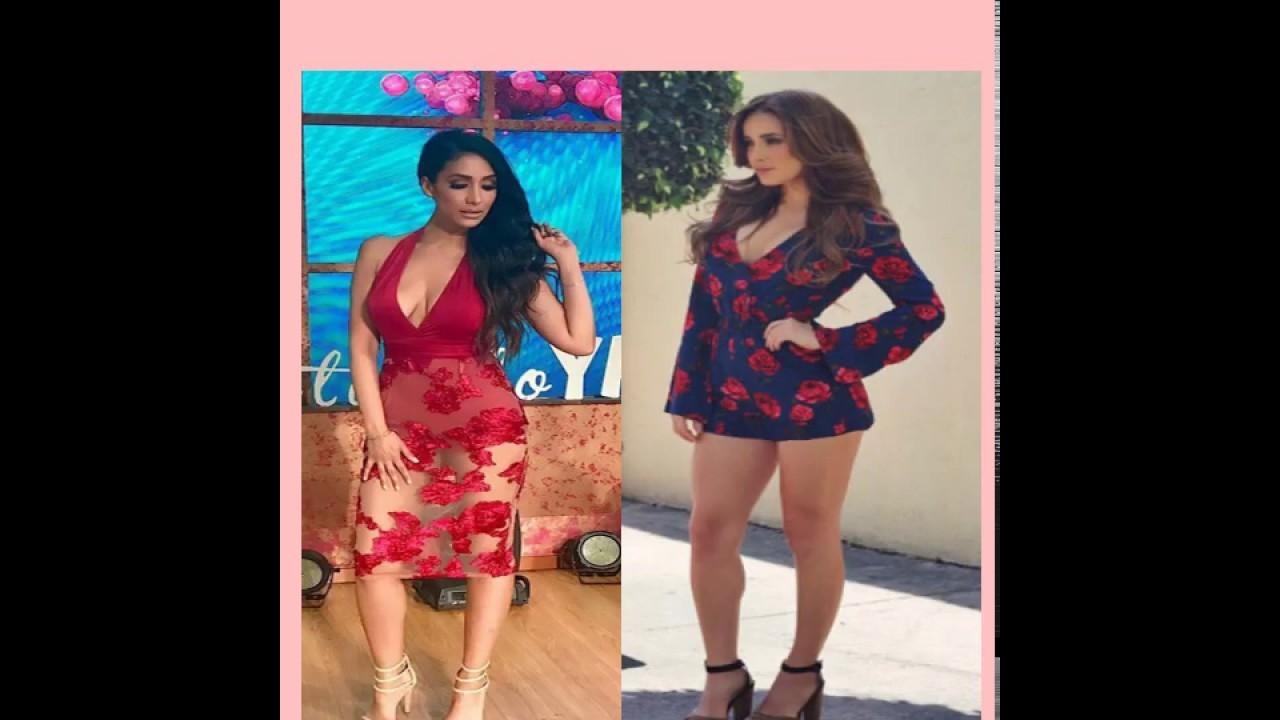 CONDUCTORAS SEXYS.. Cynthia  urias & Cyntia Rodriguez.. las piernas mas sexys !!!