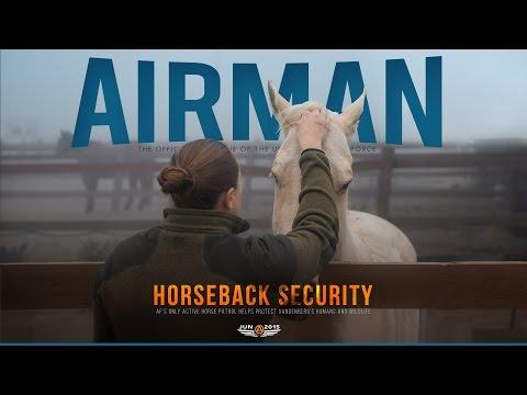 Air Force Horse Patrol