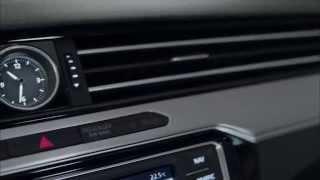 Volkswagen Passat 2014 Обзор Интерьера включая цветную 12 дюймовую панель приборов