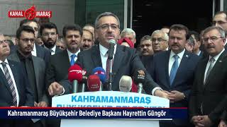 Kahramanmaraş Büyükşehir Belediyesi'nde Devir Teslim Töreni