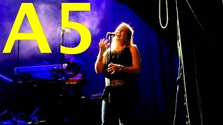 Ola Bieńkowska Slaying Live G5s and A5s (The Great Gig In The Sky - Pink Floyd)