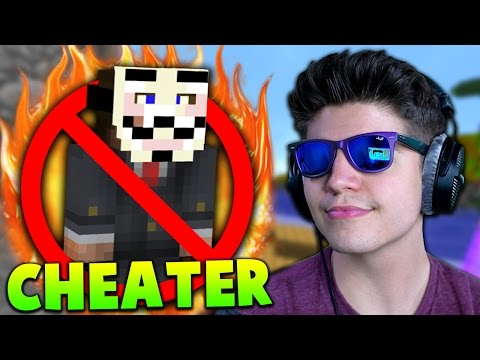 BEATING CHEATERS!! | Minecraft HUNGER GAMES