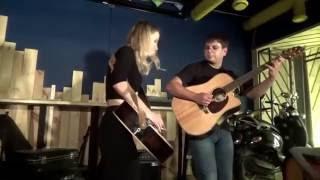 классно зажгли)) Александра Разумная, Алексей Иванов, бесплатный урок по гитаре