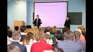 Лекция шведских преподавателей в Институте журналистики БГУ