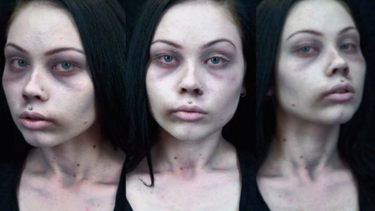 CADAVER / DEAD GIRL - QUICK AND EASY COSTUME MAKEUP TUTORIAL ...
