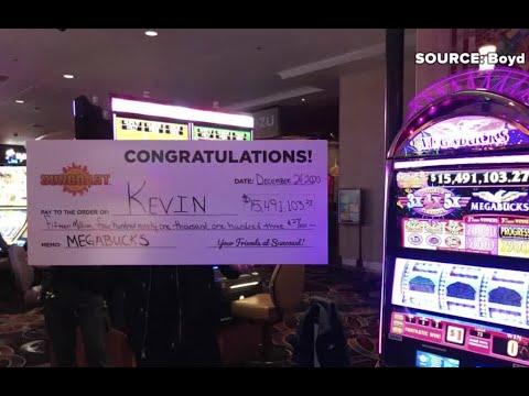 Man Wins almost $15.5M at Suncoast Las Vegas On X-mas Eve