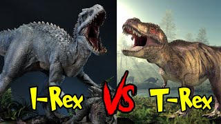 I Rex Vs T Rex   कौन Dinosaur जीतेगा T Rex या Indominus Rex