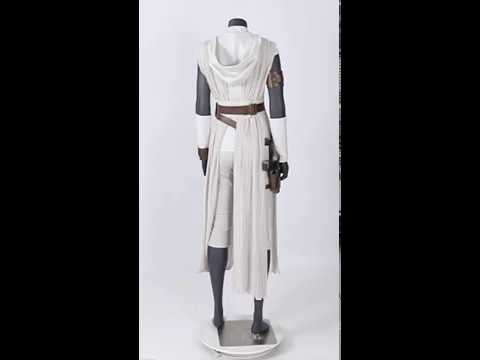 Star Wars 9 The Rise Of Skywalker Rey Cosplay Costume Youtube