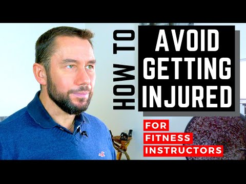 How Fitness Instructors should avoid getting injured