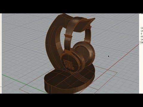Making a DIY Headphone Stand